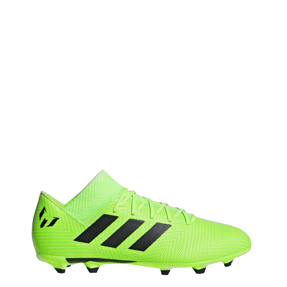 daa001ddf Details about Men s Adidas Nemeziz Messi 18.3 FG Soccer Cleat Green Black