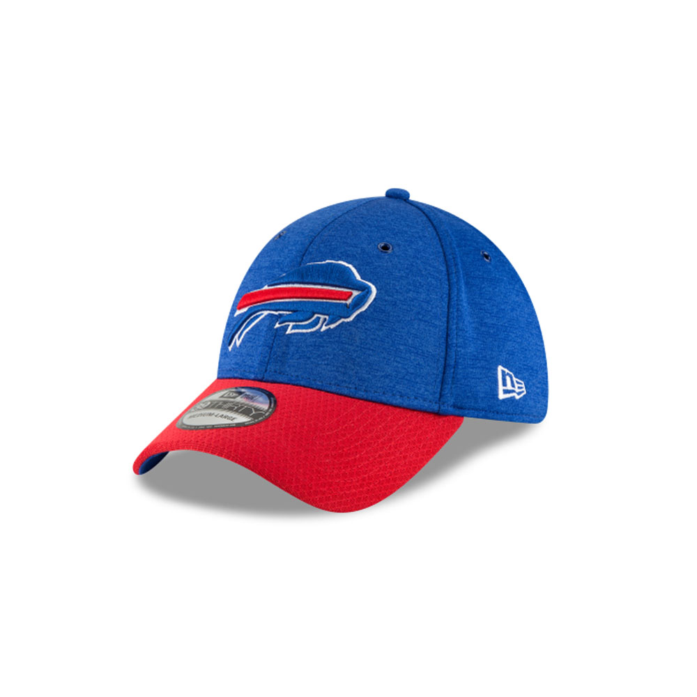 buy online c39c8 da26a Details about Men s New Era Buffalo Bills 2018 NFL On Field Sideline Hat  Red White Blue