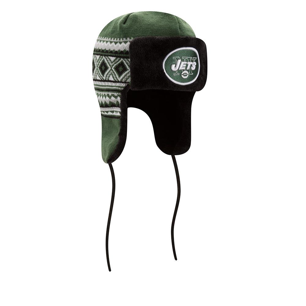 65da3910a5820 Men s New Era New York Jets NFL 2016 Team Trim Trapper Hat ...