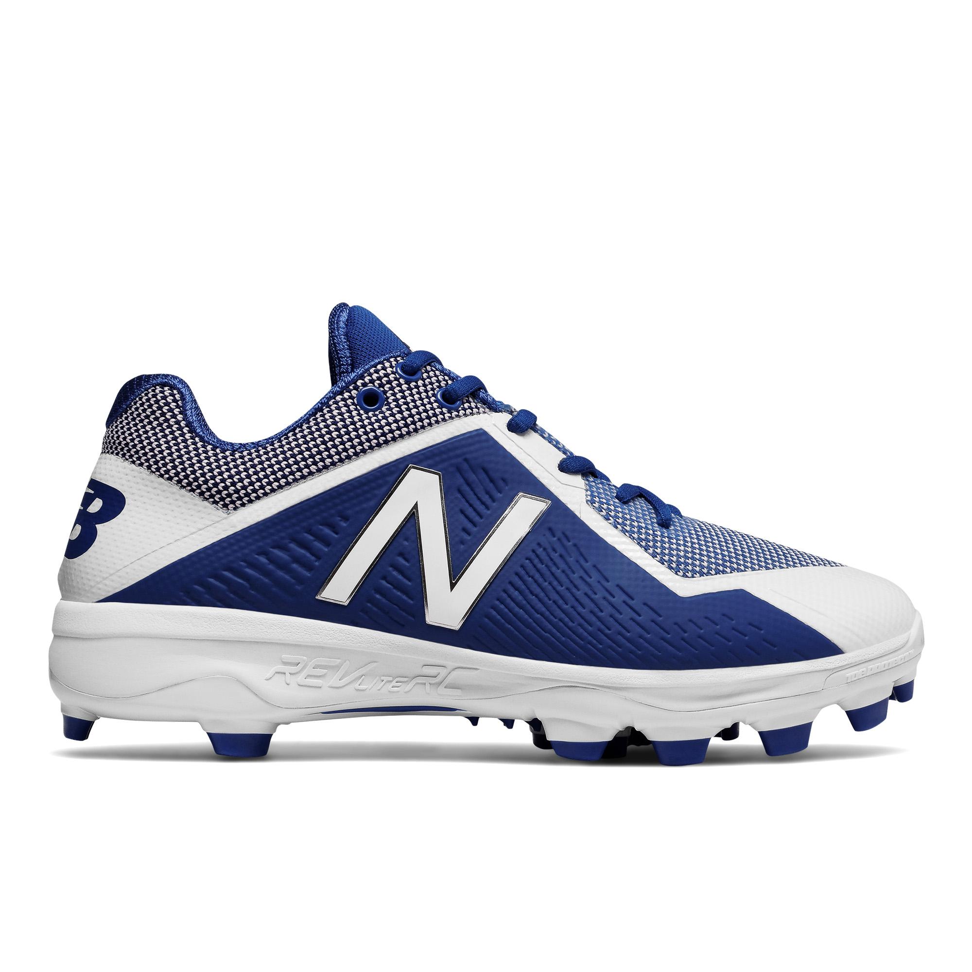 93abeeea0 Details about Men s New Balance TPU 4040v4 Baseball Cleat Royal White