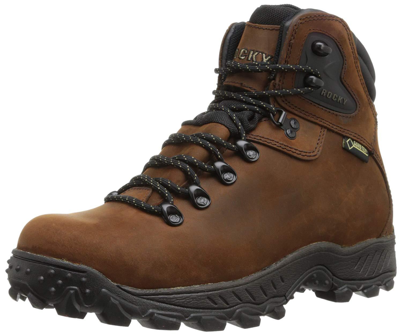 4186058c8c19f ... Men s Rocky Creek Bottom Bottom Bottom GORE TEX Waterproof Hiking Boot  Brown 3c4bc1 ...