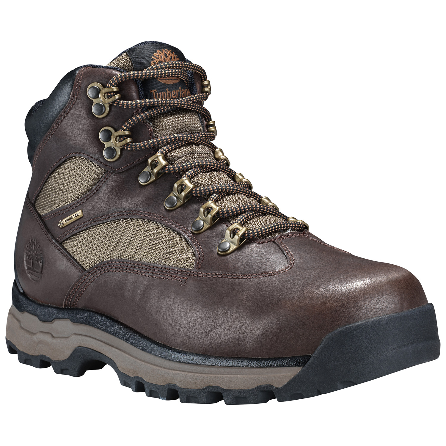 c93eb948421 Details about Men's Timberland Chocorua Trail 2 Mid Gore-Tex Hiking Boot  Dark Brown