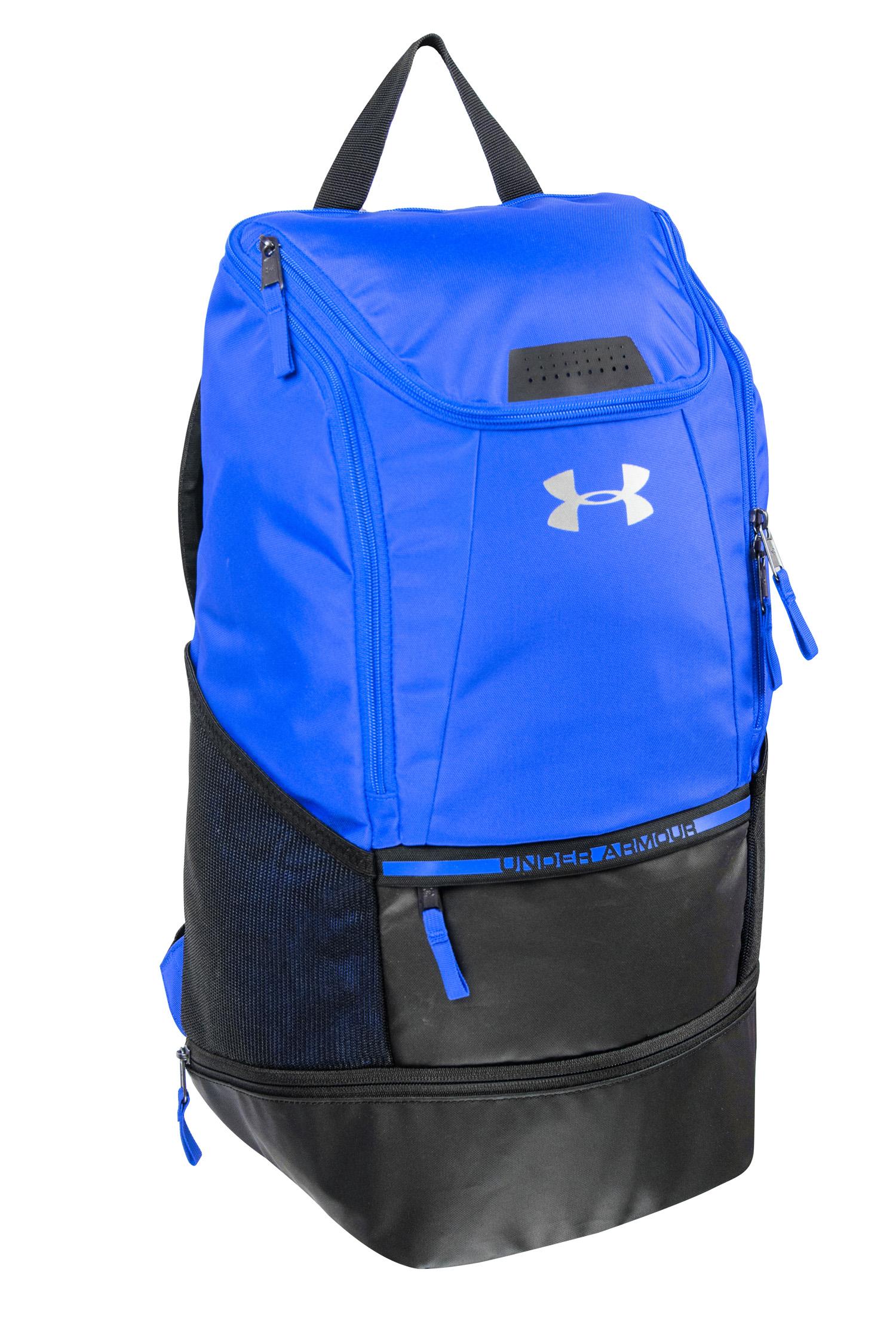 65f9ba9fc4d Men's Under Armour Soccer Backpack Royal 29343991363 | eBay