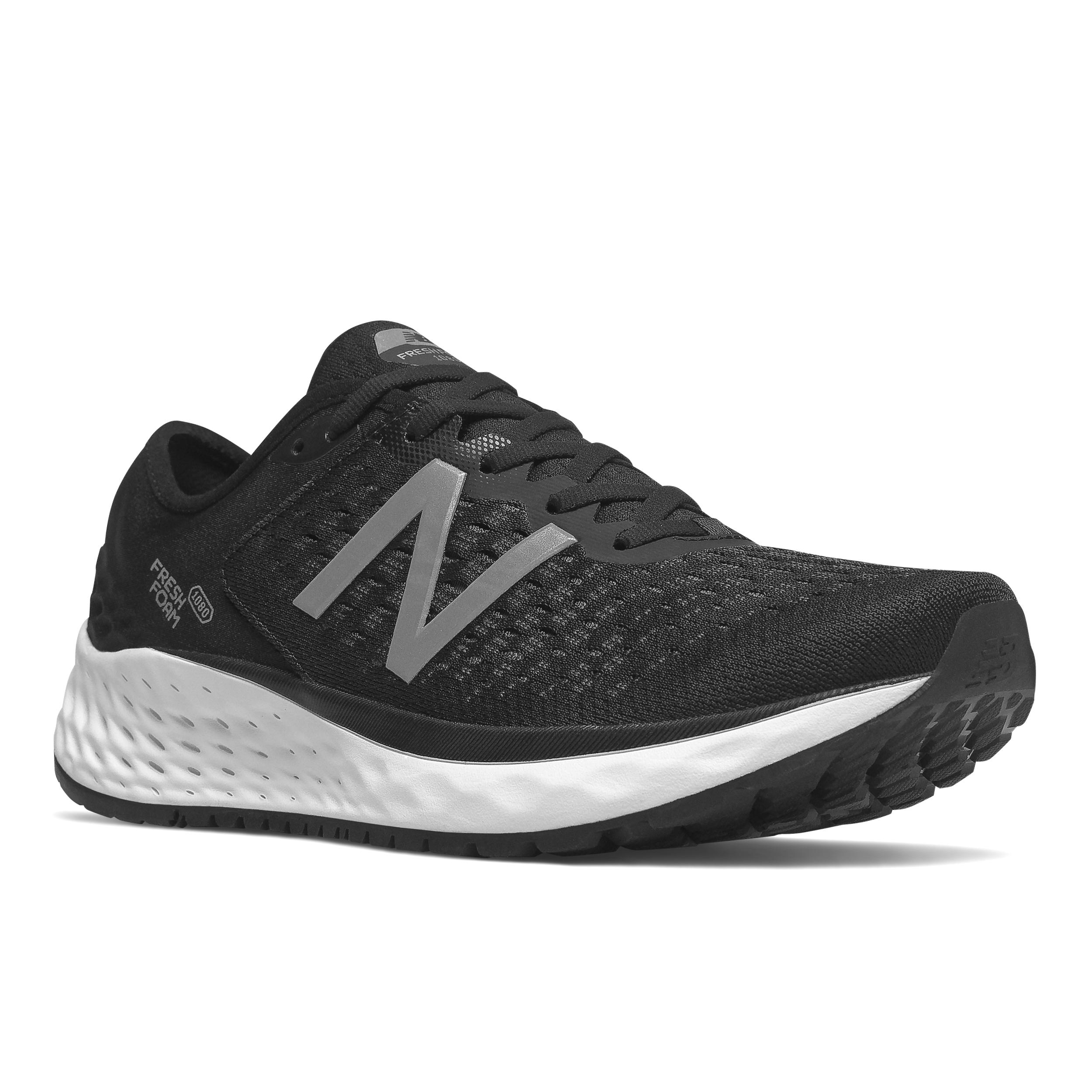 Details about Women s New Balance Fresh Foam 1080v9 Running Shoe Black White dcebd2b7163
