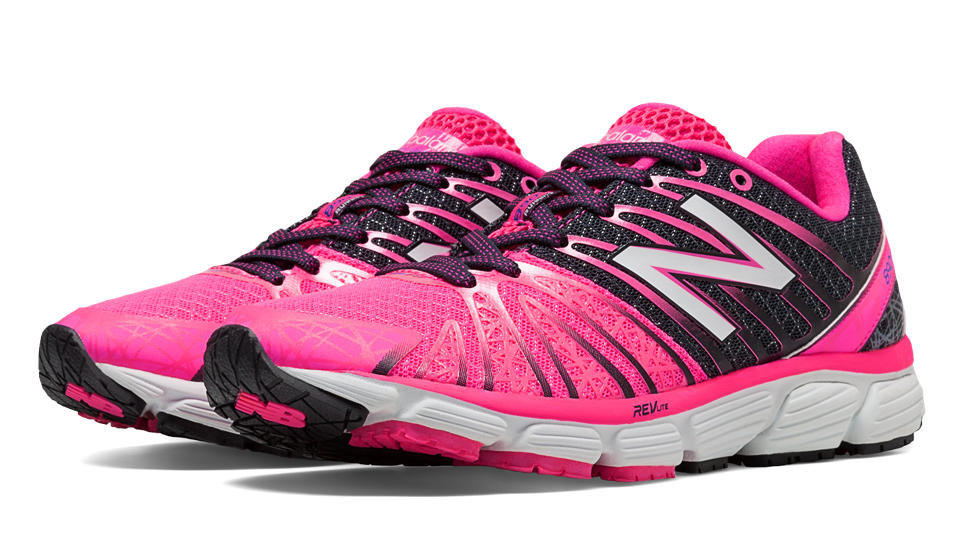 new product 10ac2 3a7eb ... Women s New Balance 890V5 Pink Ribbon Running Shoe - Sieverts Sporting  Goods ...