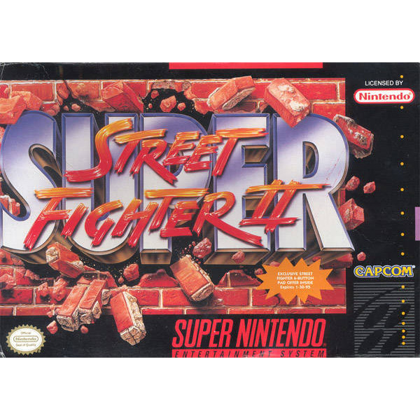 Super Street Fighter Ii The New Challengers 2 T Cart Only