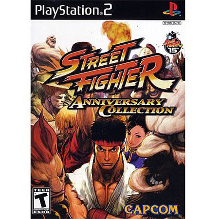 Details about Street Fighter Anniversary Collection Sony PS2 NEW Game
