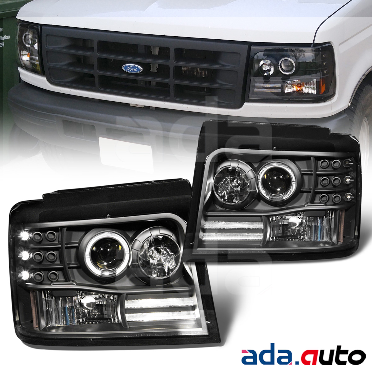Image Result For Ford F Headlights Halo