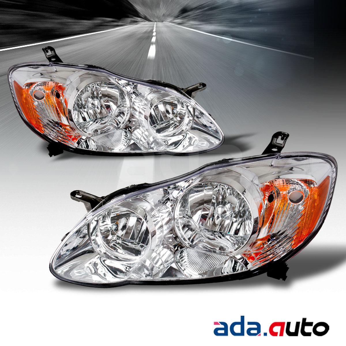 2005 toyota corolla headlights