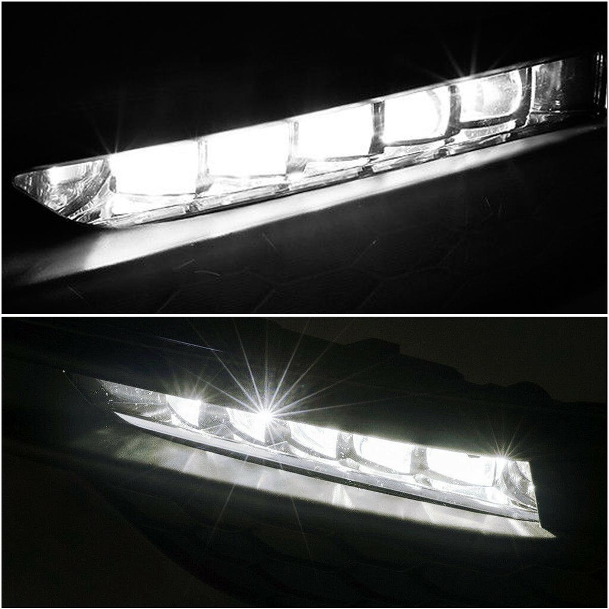 For 2016-2017 Honda Accord Sedan LED DRL Bumper Fog lights ...