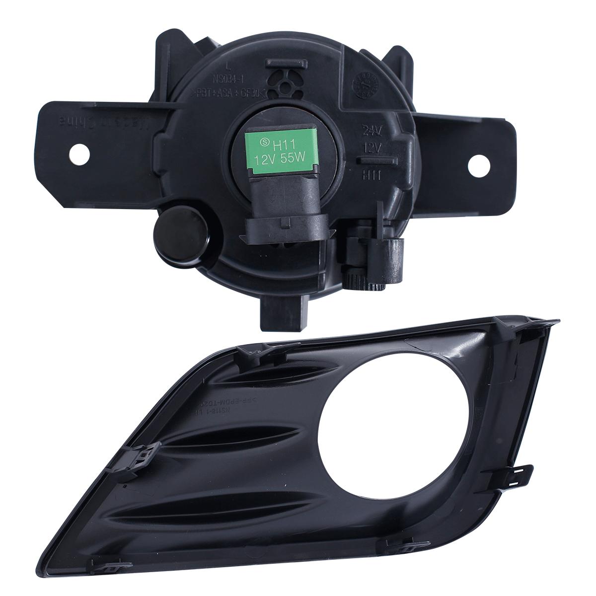 For 2016 2017 Nissan Altima Bumper Fog Lights Pair Switch Bulbs Honda Pilot Light Wiring Harness