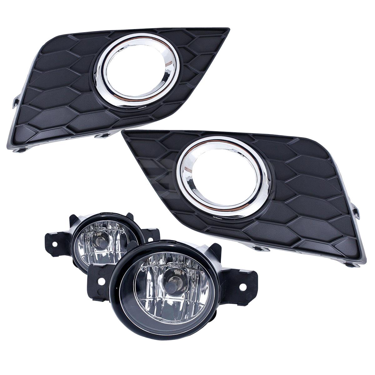 For 2016 2017 Nissan Sentra Sylphy Bumper Fog Lights