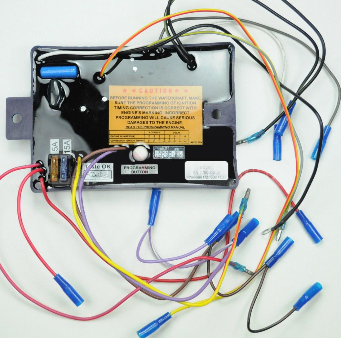 wiring � 1997 seadoo wiring diagram: new cdi mpem ignition module seadoo  sp gtx 1997 278001133