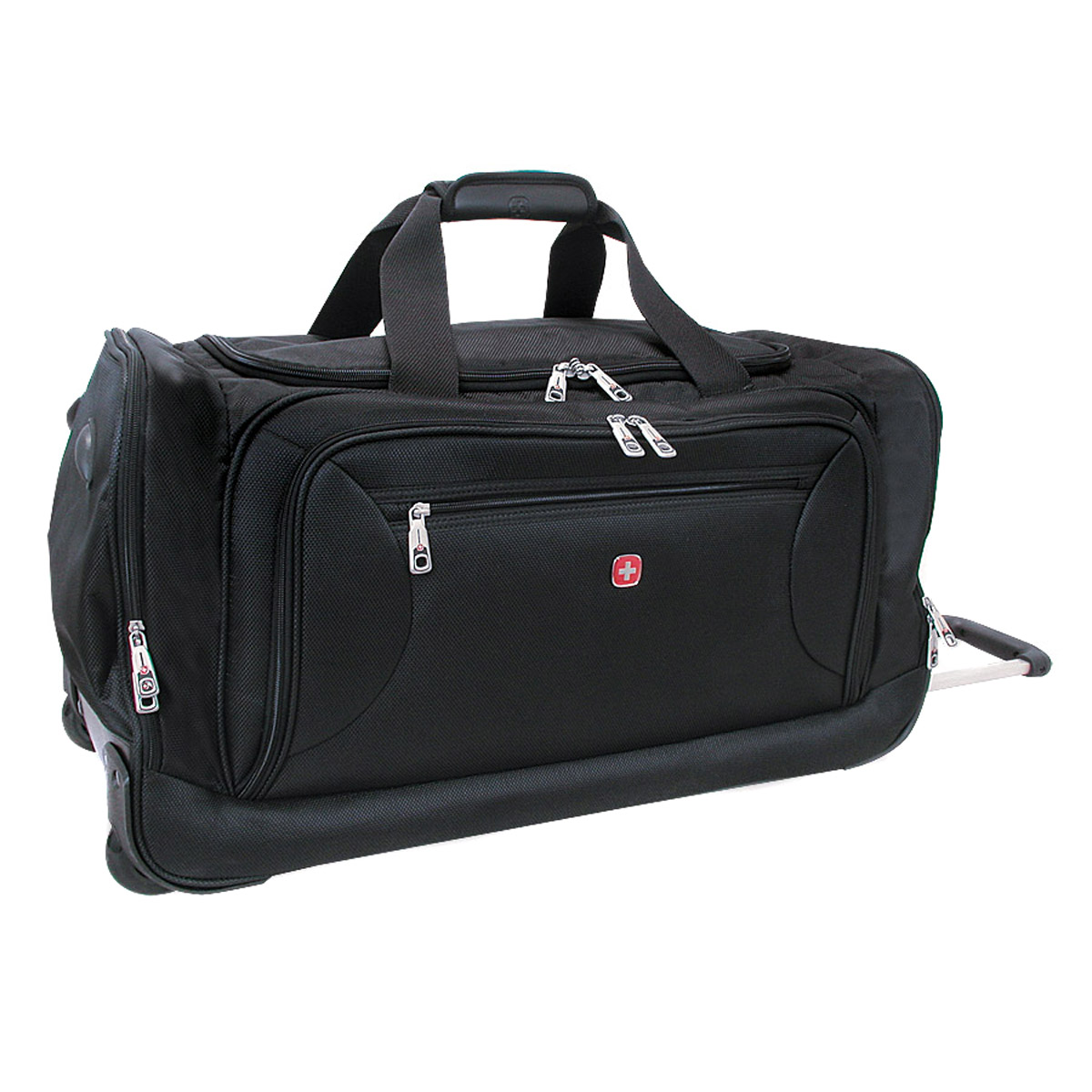 Wenger Swissgear 22 Quot Rolling Carry On Duffel Bag Black
