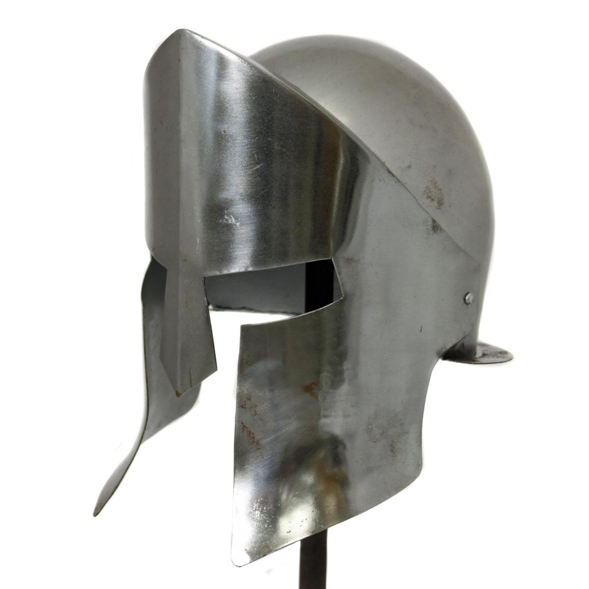 Antique Replica Armor Spartan Helmet - Chrome   eBay