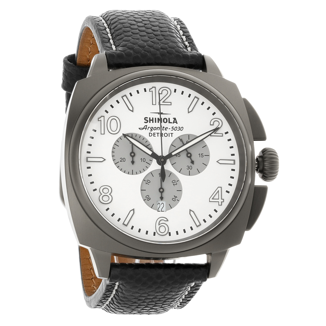 shinola the brakeman mens argonite 5030 detroit swiss quartz watch 10000188