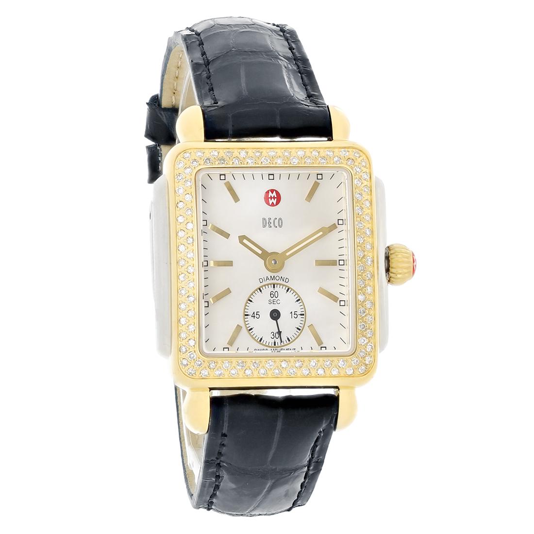 Michele Deco Diamond Watch Band