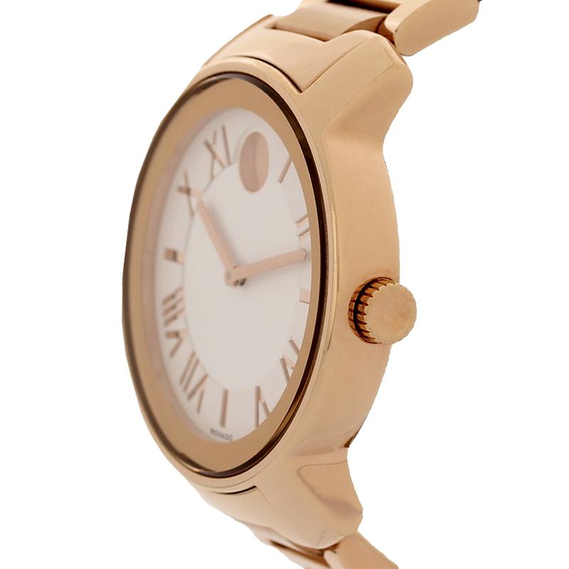 5042fd3b66a Movado Bold Series Ladies Rose Gold Tone Bracelet Swiss Quartz Watch 3600200