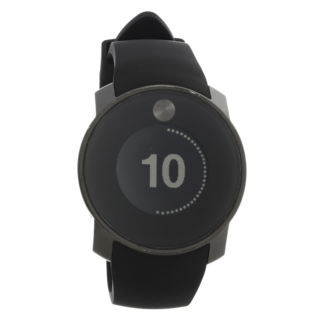 53cbf32819c Movado Mens Bold Digital Touch 2 Black ION Quartz Watch 3600365