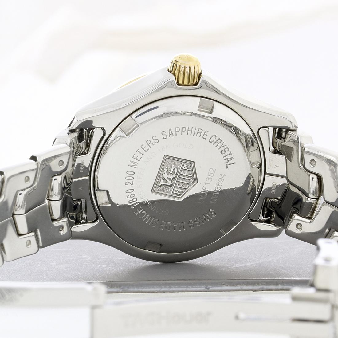 9dcac32a76af Tag Heuer Link Series Ladies MOP 2 Tone Swiss Quartz Watch WJF1352.BB0581