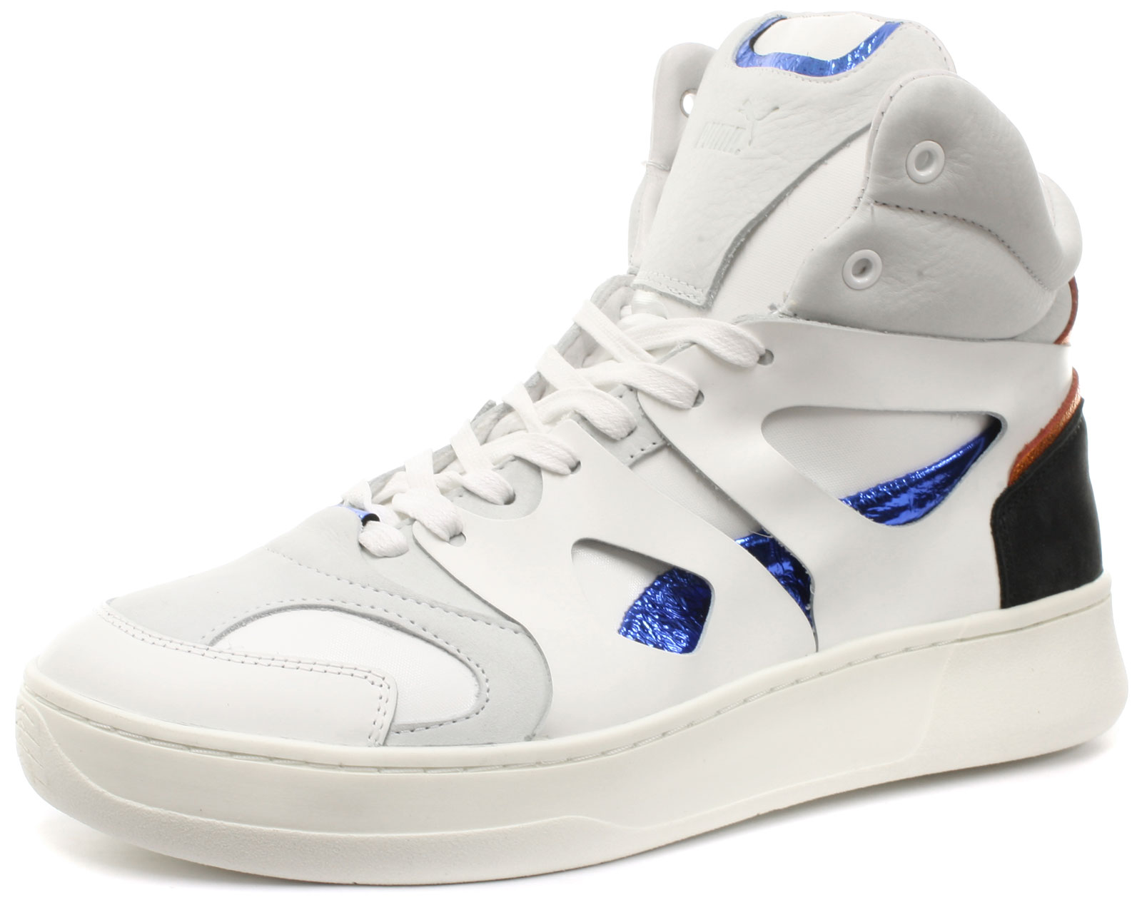 New WEISS Puma Alexander McQueen MCQ Move Mid WEISS New Mens Trainers ALL SIZES d29a3a