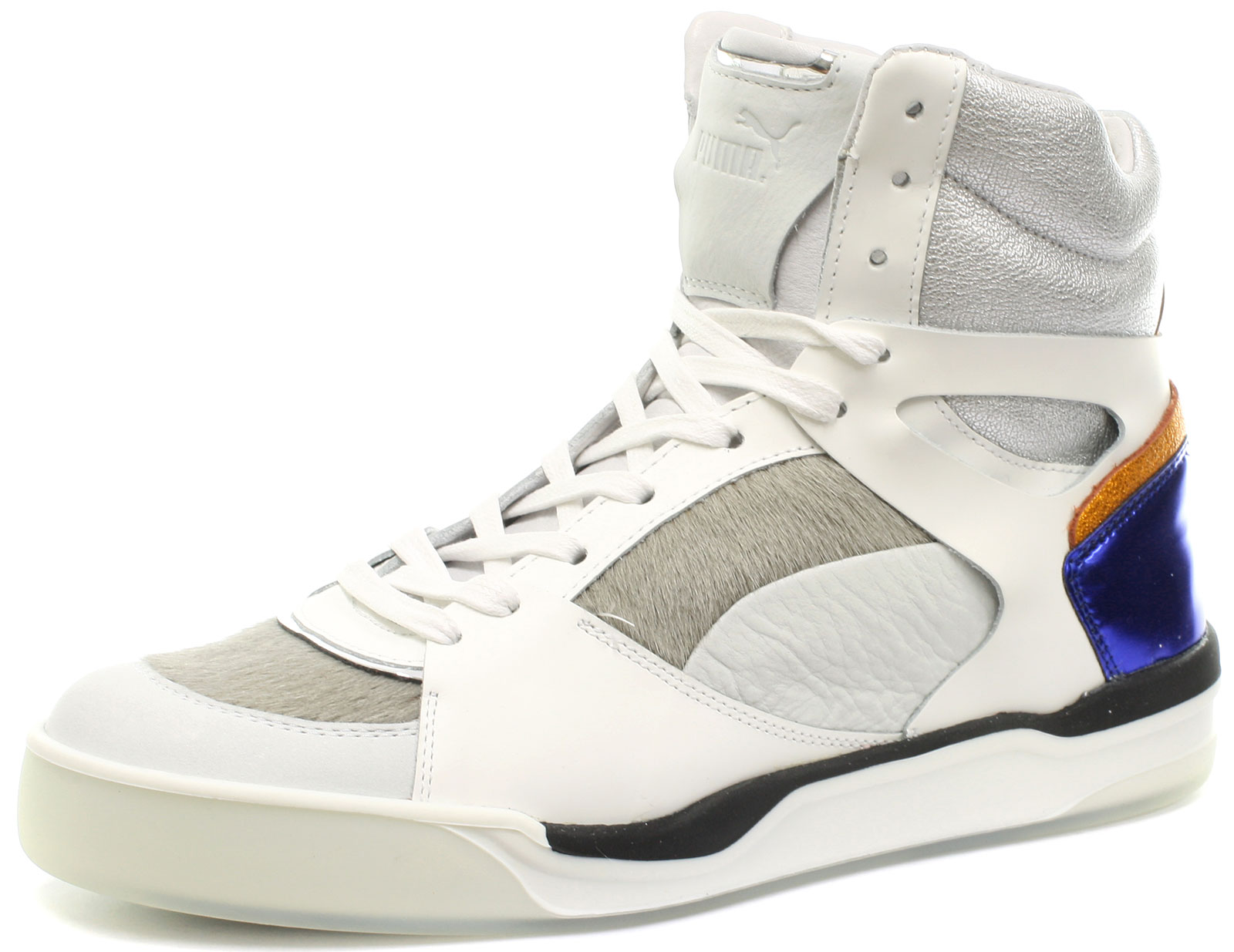 Mcqueen Trainers All Femme Alexander Womens Mid Puma Mcq Move Wht Sizes aBq58wg8