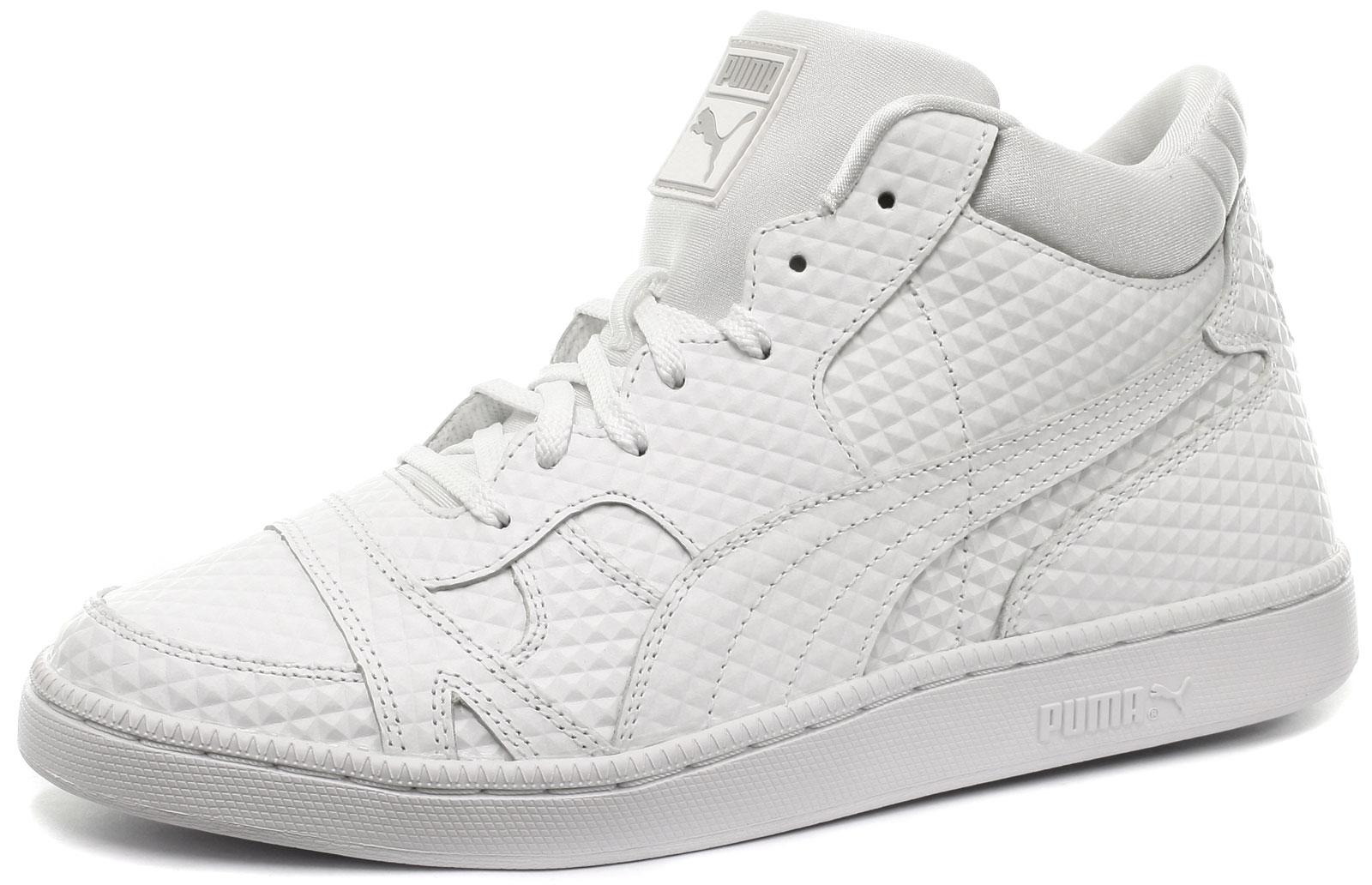 NUOVO Puma Becker in rilievo Sneaker Uomo Tutte Le Taglie