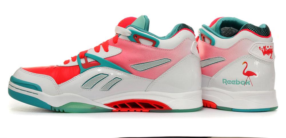 983c4646ba817c Reebok Pump Court Victory II Miami Vice Mens Shoes UK 7 on PopScreen