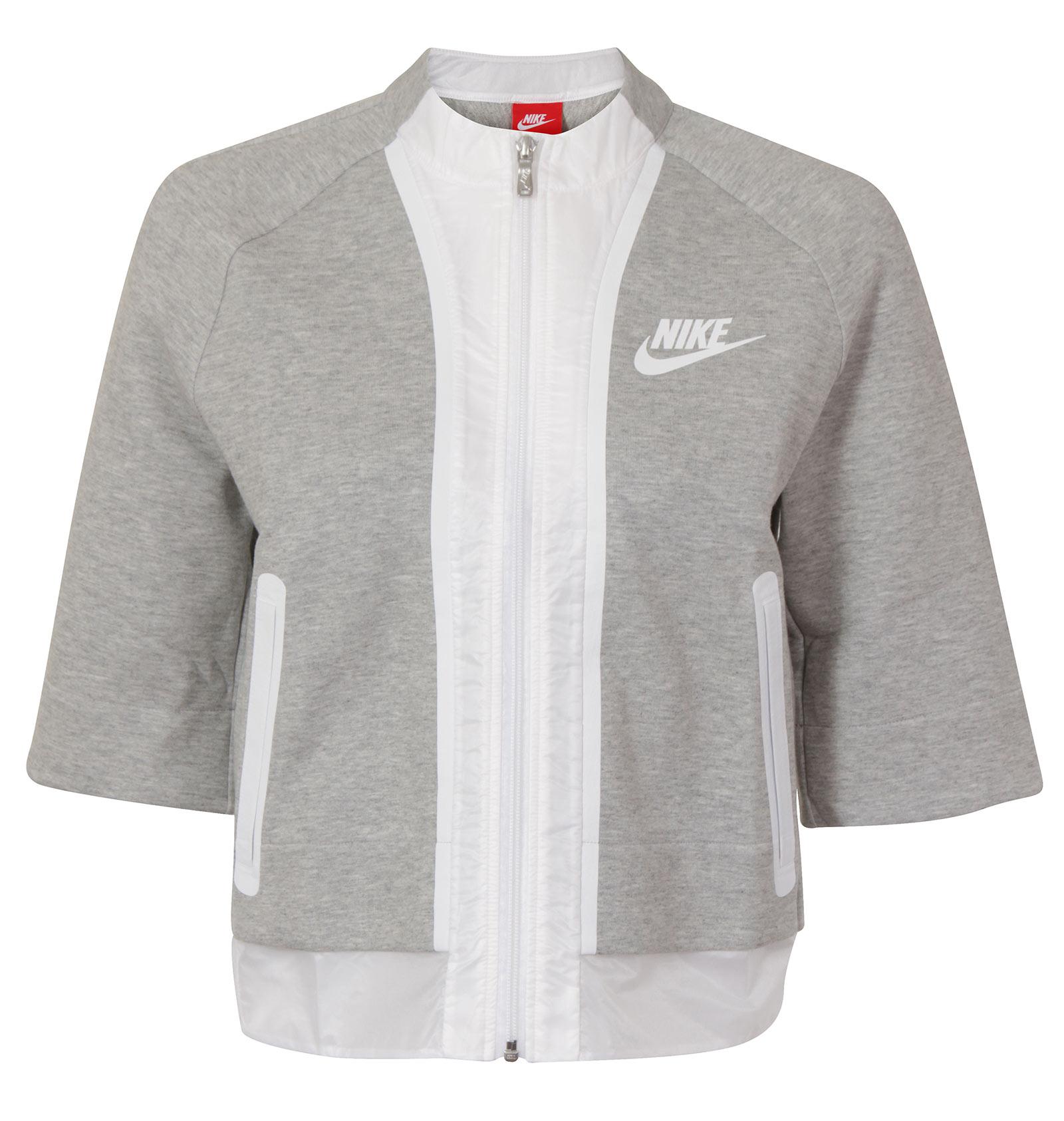 New Nike Tech Fleece Cropped Splatter Womens Jacket ALL SIZES | eBay