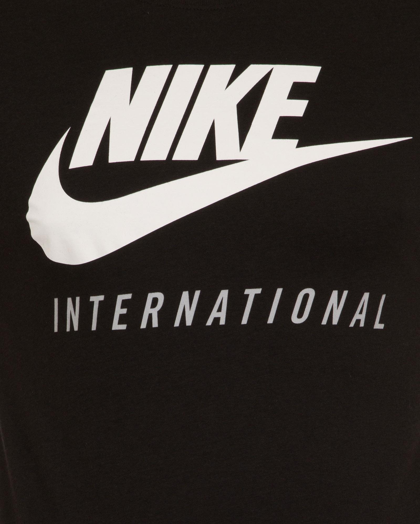 new nike international logo mens t shirt all sizes ebay. Black Bedroom Furniture Sets. Home Design Ideas