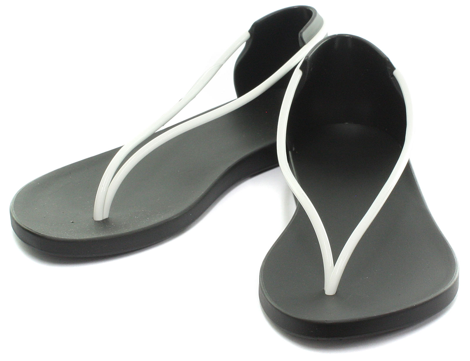 42d222dccca 1 of 6FREE Shipping Ipanema Brasil Starck Thing N Blk Wht Womens Thong  Sandals ALL SIZES