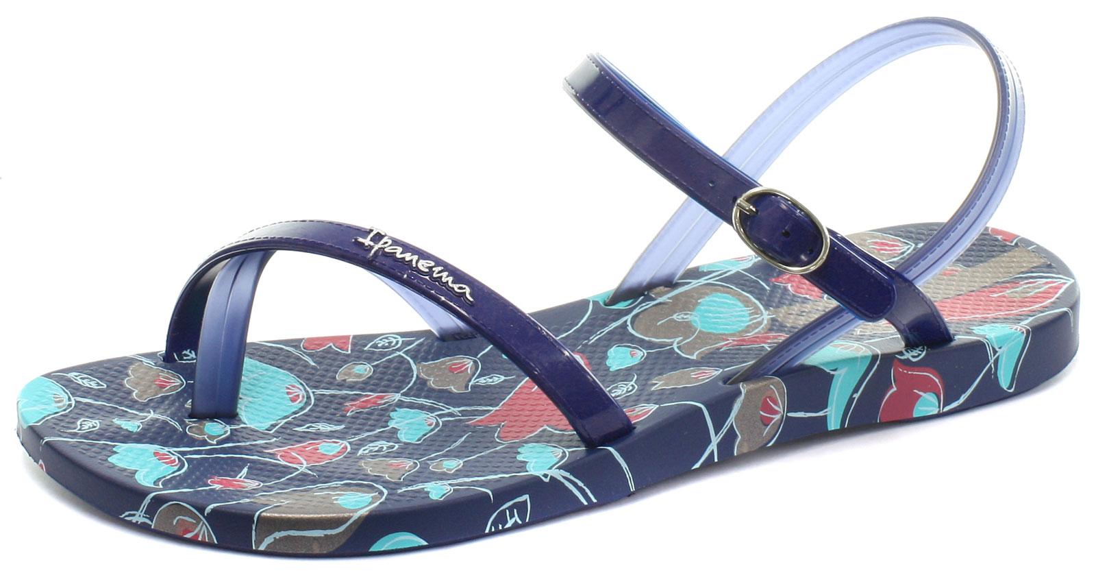 4a857cef9ec12 IPANEMA BRASIL DIAMOND IV Navy Womens Beach Sandals Size UK 5 (EU 38 ...