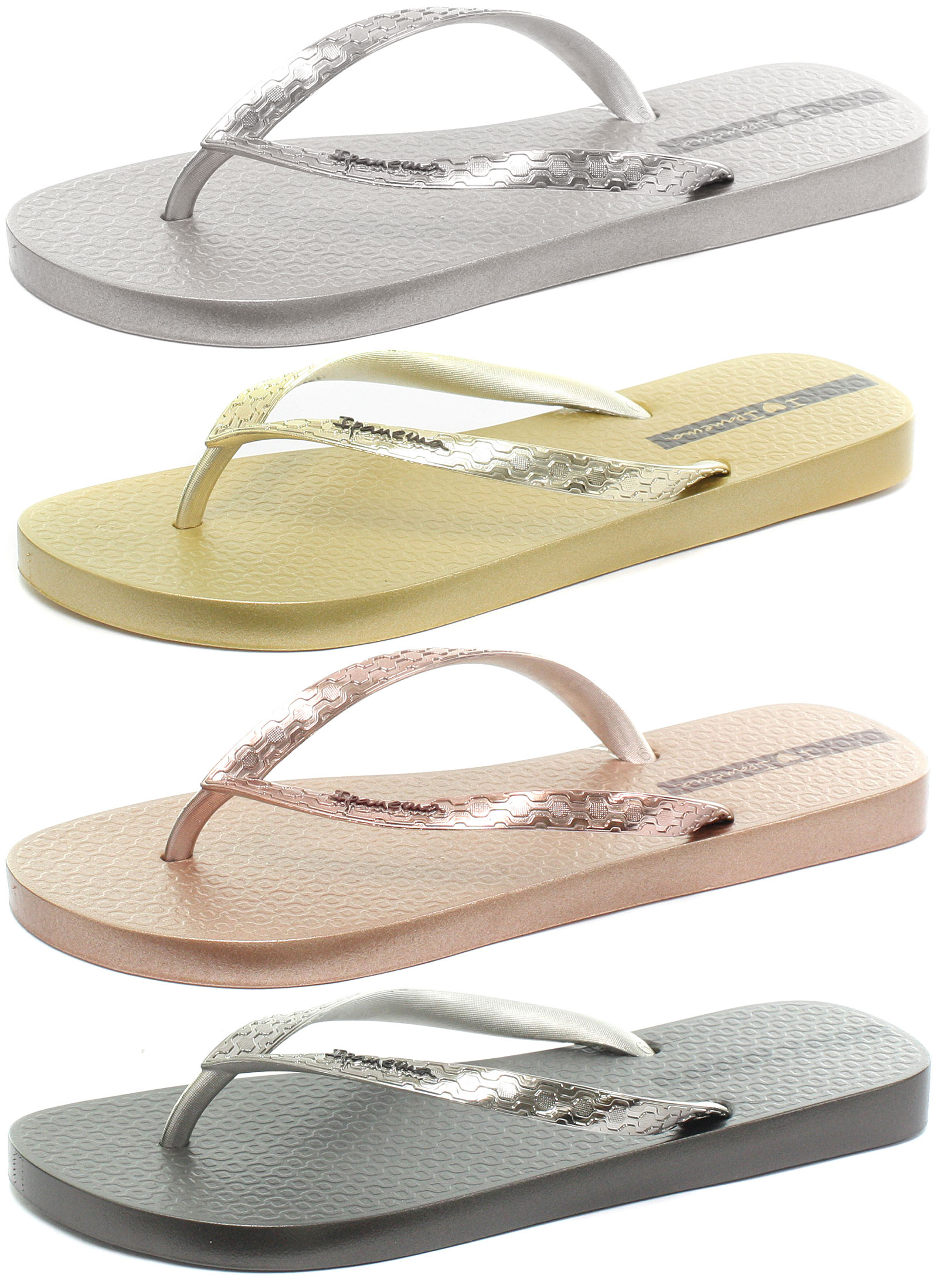 c4576aefc0f0 New Ipanema Brasil Glam Womens Flip Flops ALL SIZES AND COLOURS