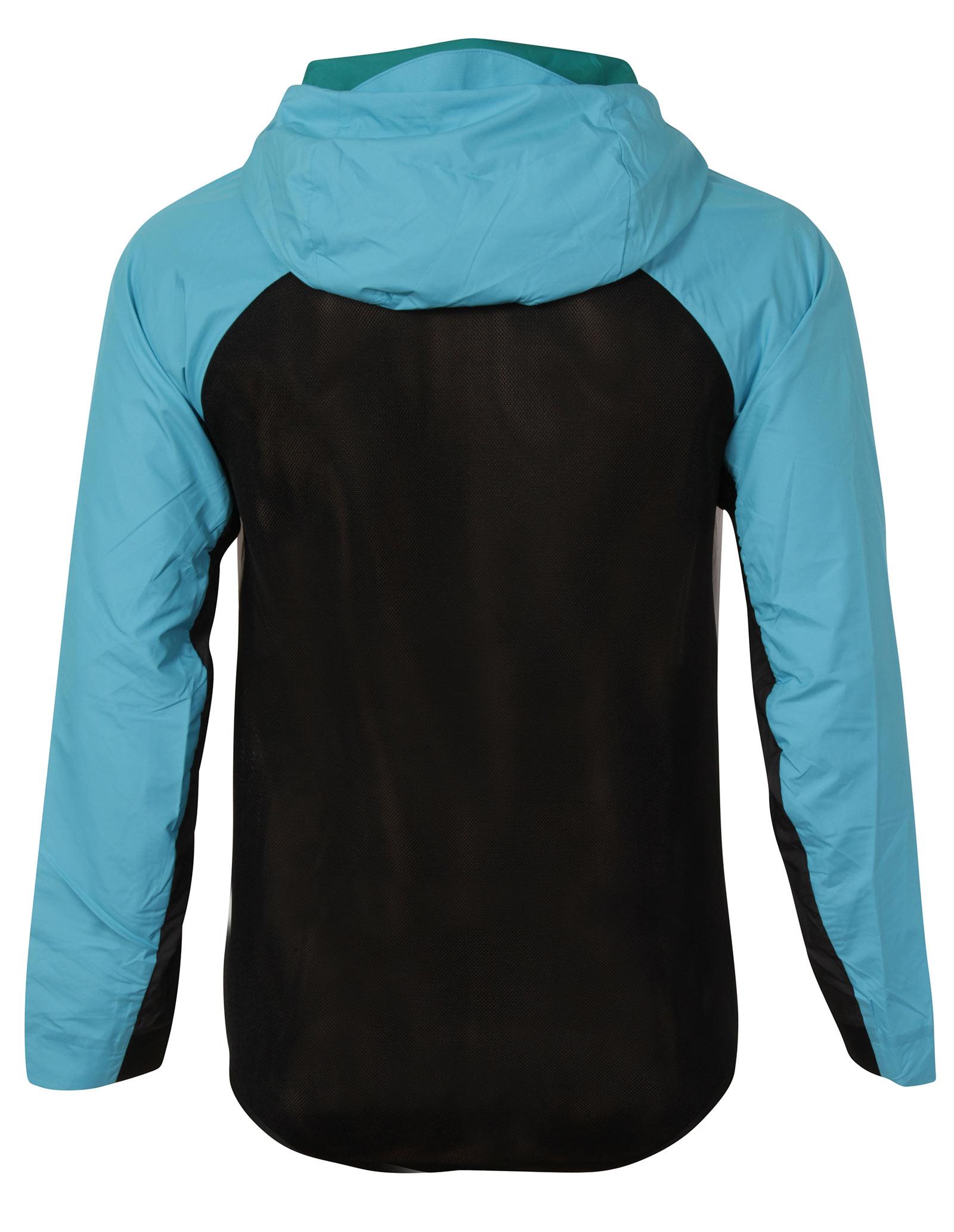 New Nike Tech Hypermesh Windrunner Mens White Blue Hooded Jacket Size L 2 2  sur 6 ... 45a31460f