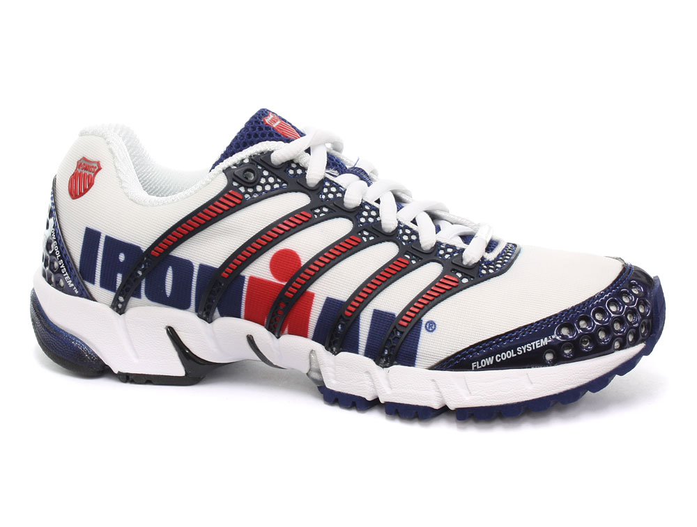K Swiss Red Ironman Shoes