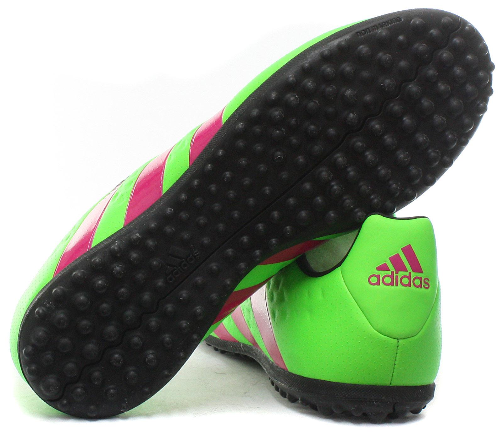 Nuevo-Adidas-Ace-16-3-TF-Junior-Cesped-Botas-de-futbol-Tacos-Todas-Las-Tallas