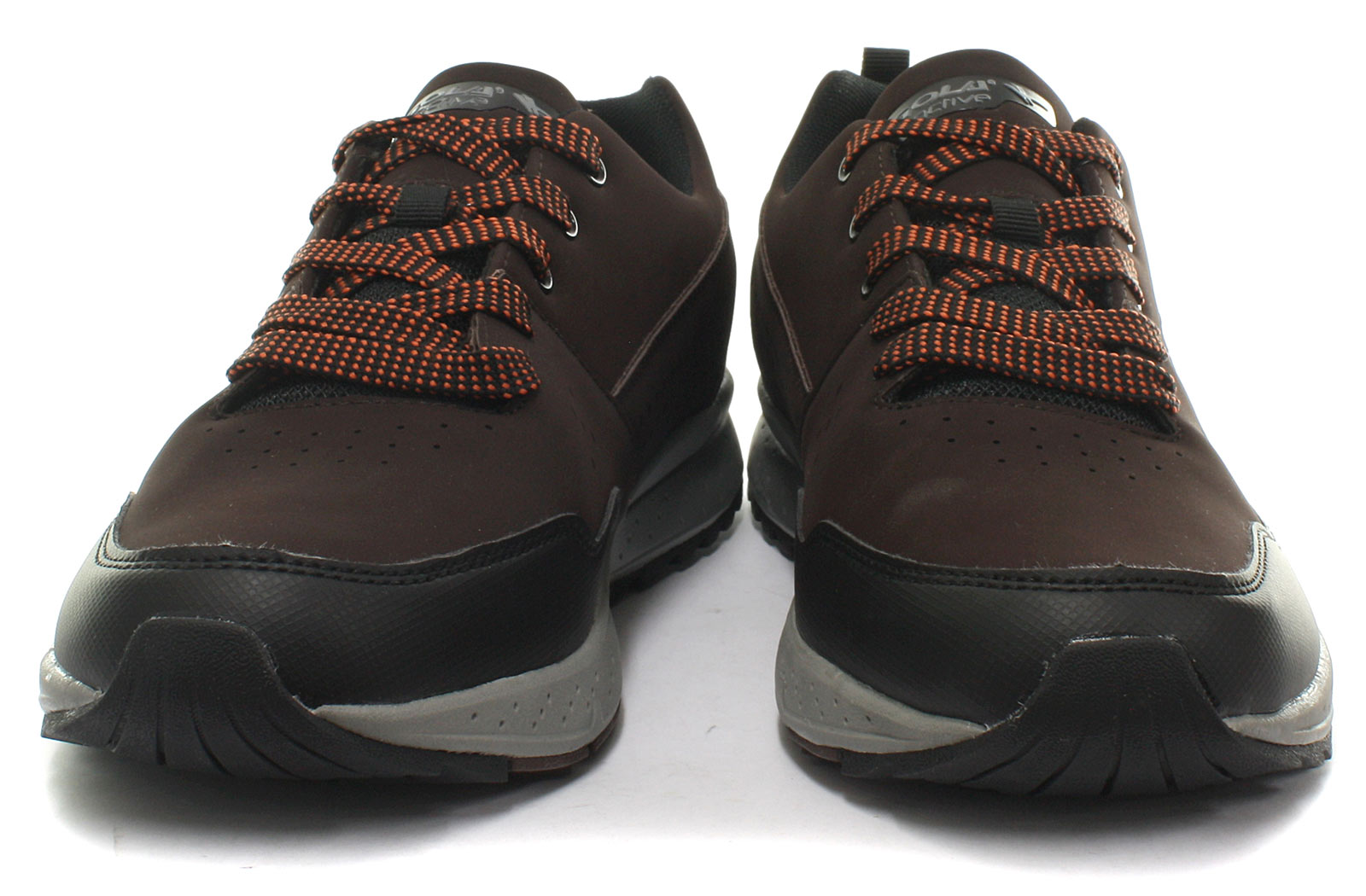 ee3b9fcb65e New Gola Active Glarus Brown Mens Urban Trekking Trail Shoes ALL ...