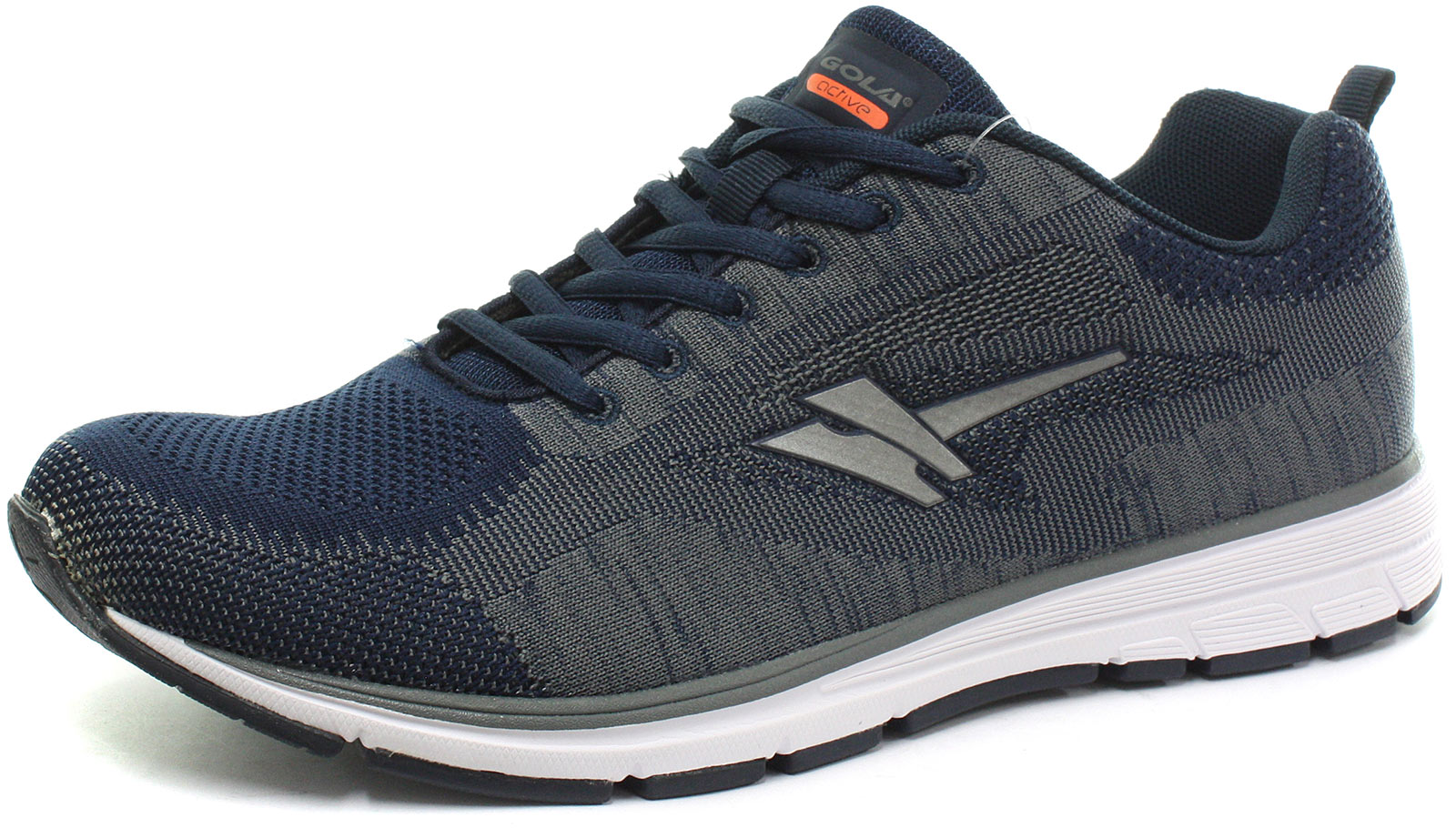 New Gola Active Fortuna Navy Mens Running Trainers Size ()