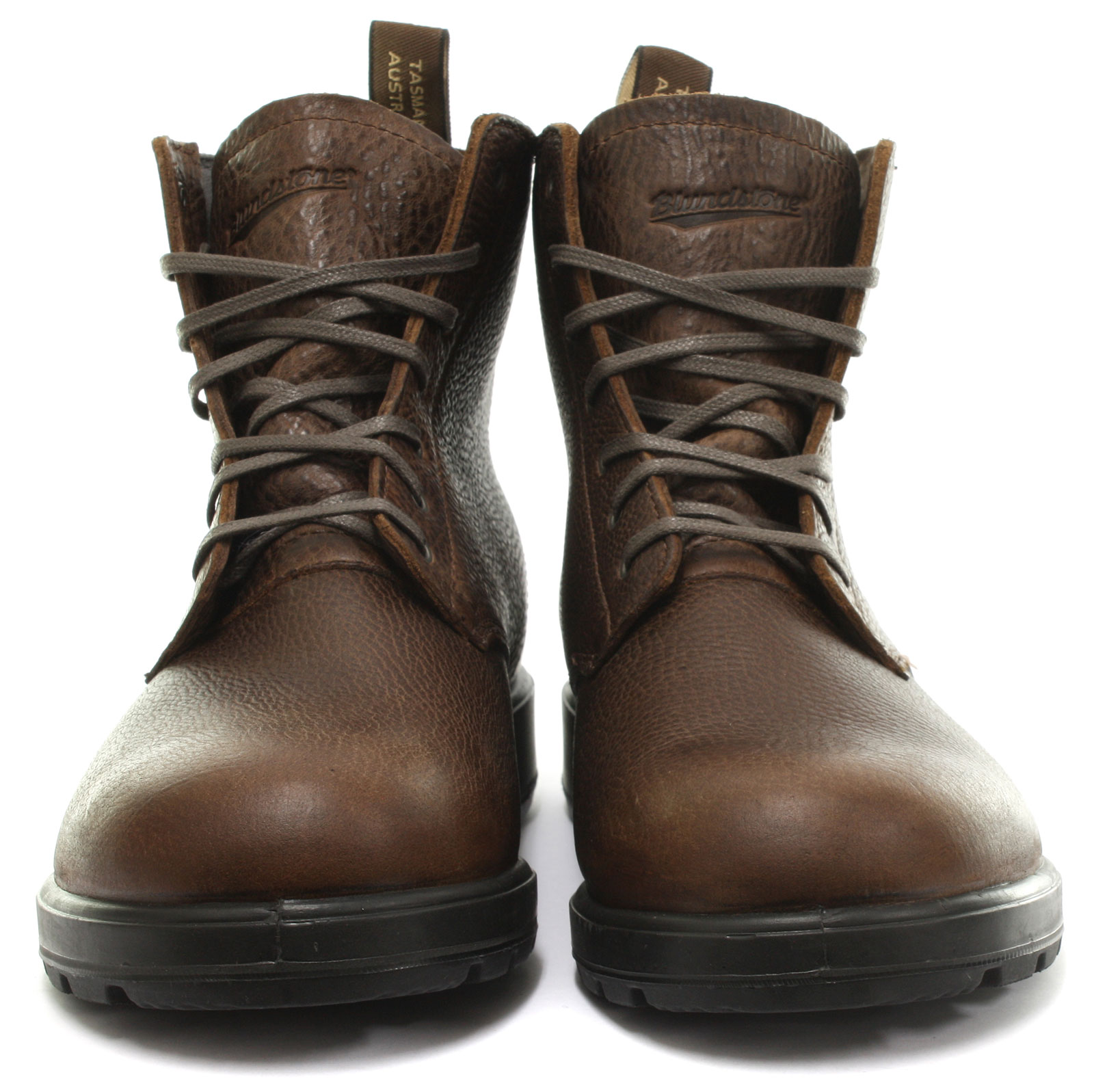 694d1798ce48 Blundstone Tumble Mens Brown Leather Casual BOOTS Lace-up Genuine ...