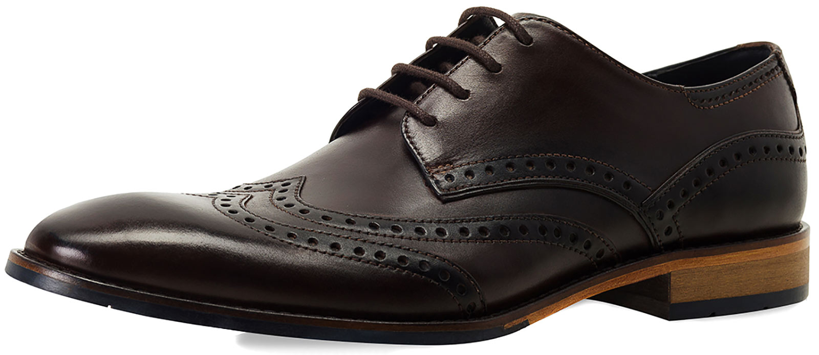 Goodwin Smith Gisburn Gibson Brown Mens Lace Up Brogue shoes Size ()