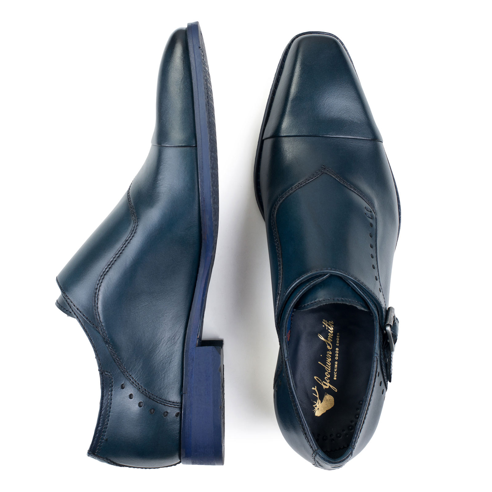 New Goodwin Smith Walsden  Uomo Monk Strap Strap Strap Schuhes ALL SIZES AND COLOURS adbd10