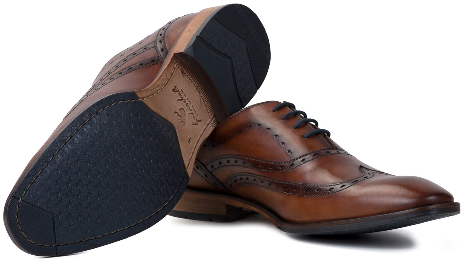 New Goodwin Smith Brogue Bowland  Uomo Oxford Brogue Smith Schuhes ALL SIZES AND COLOURS 0eb9c6