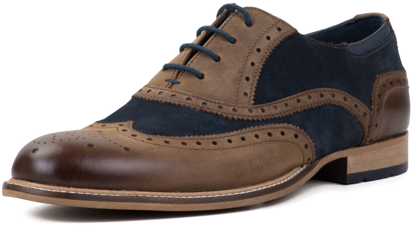Goodwin Smith Edwood Leder/Veloursleder Herren Oxford HAFERLSCHUH