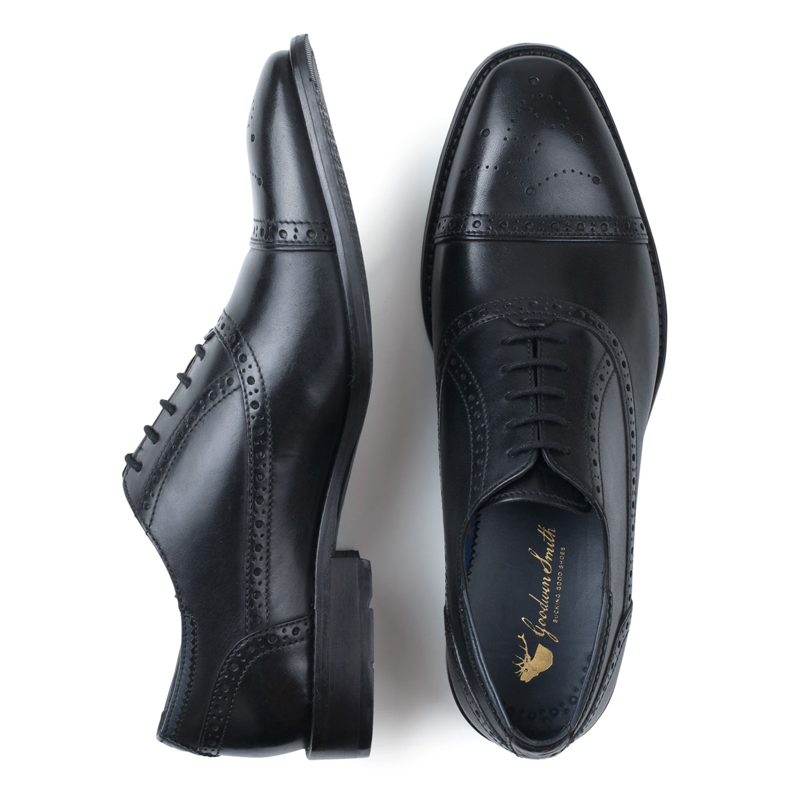 Goodwin Smith Ealing Brogue  Uomo Oxford SIZES Lace Up Schuhes ALL SIZES Oxford AND COLOURS 81e233