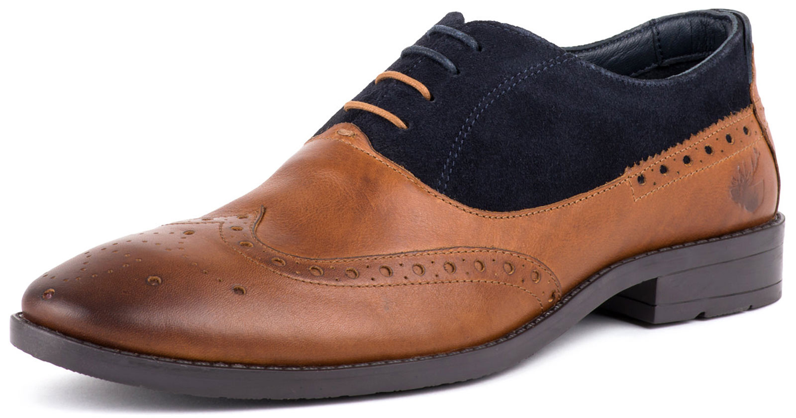 New Goodwin Smith Denby Mens Oxford Brogue Lace Up shoes ALL SIZES