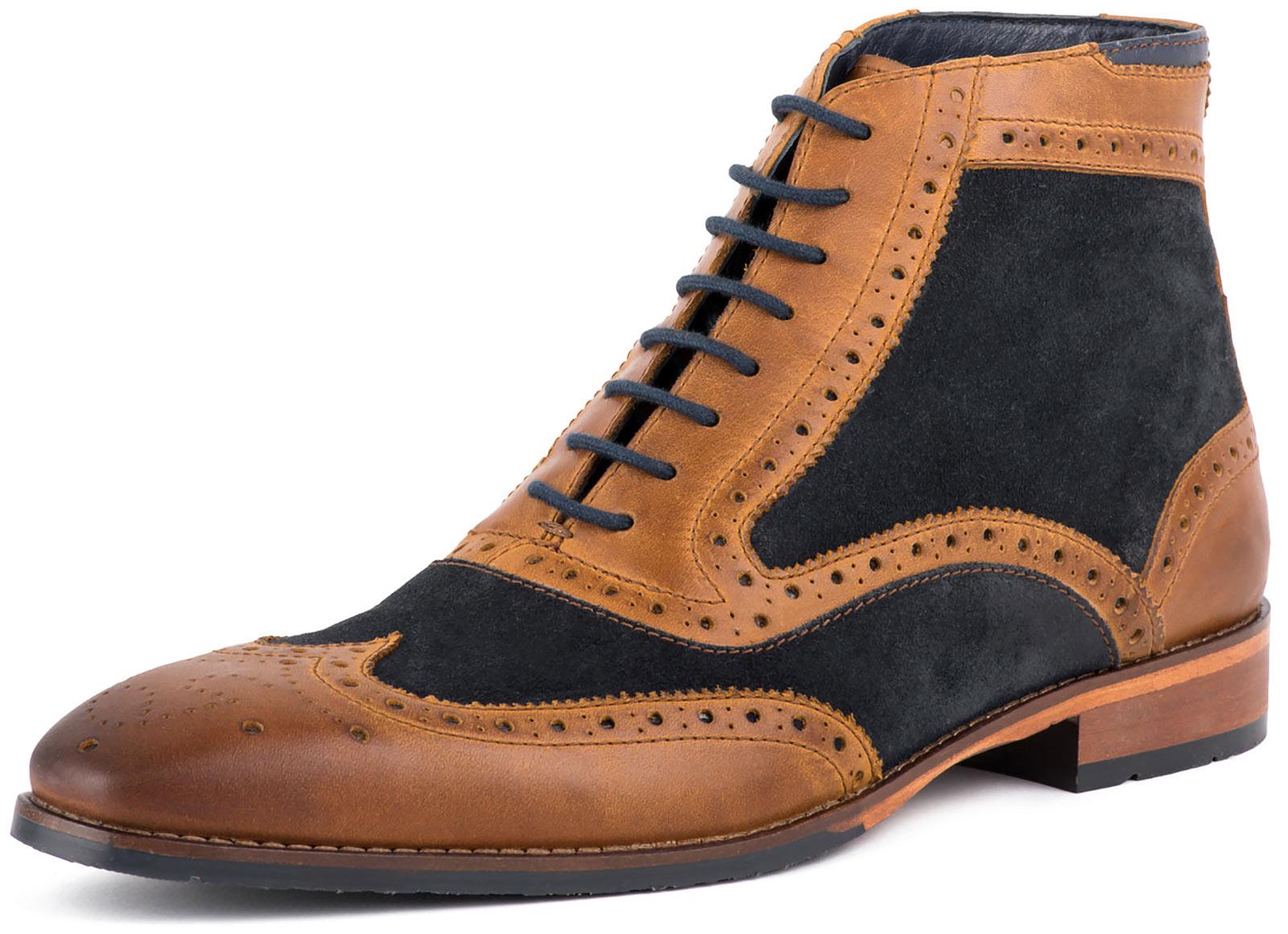Neu Goodwin Smith Kirkston Wildleder Herren Brogue Stiefel Alle Größen  | Ausgezeichneter Wert