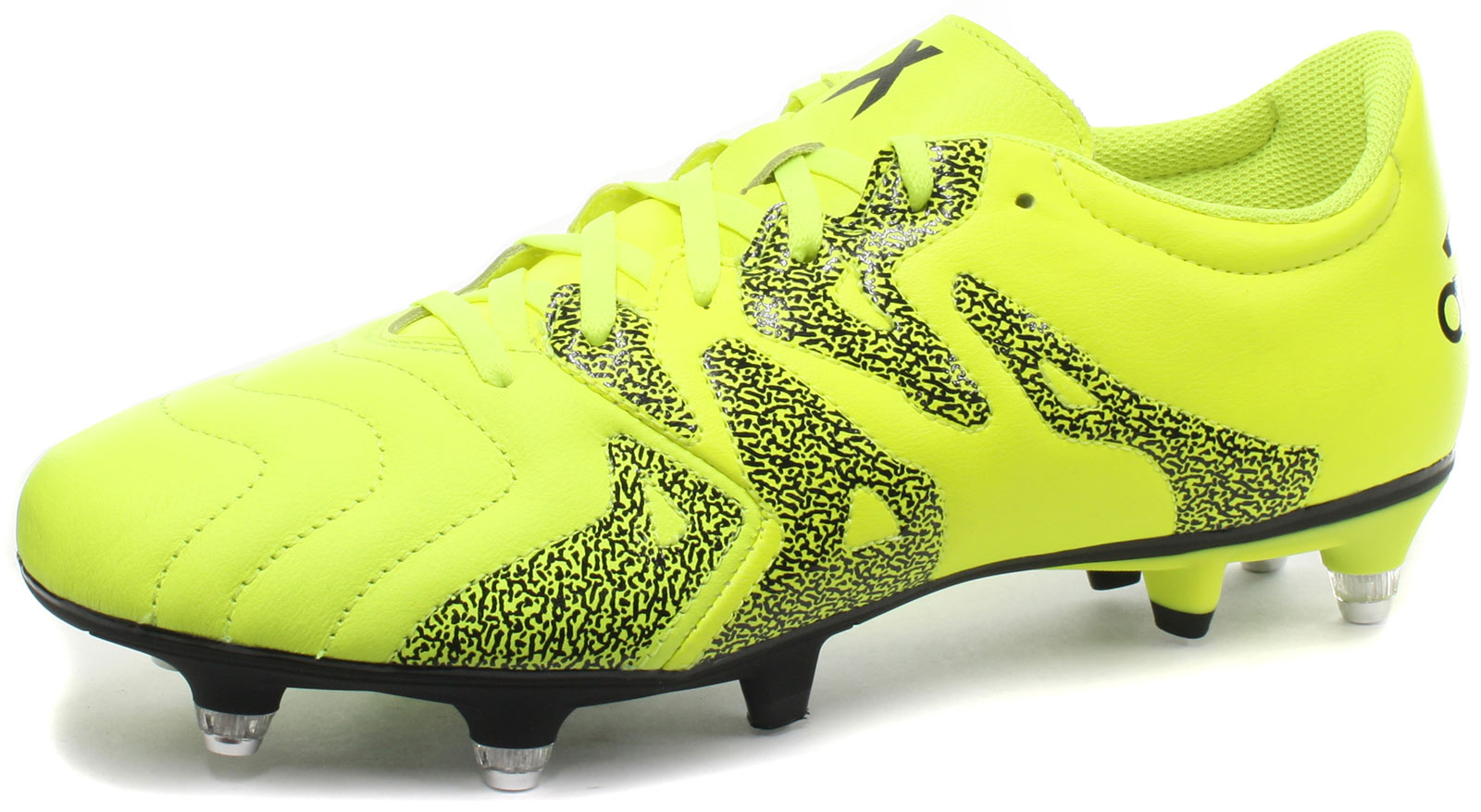 New adidas X 15.3 SG Leather Mens Football Boots   Soccer Cleats ALL ... 2a2450c29f73