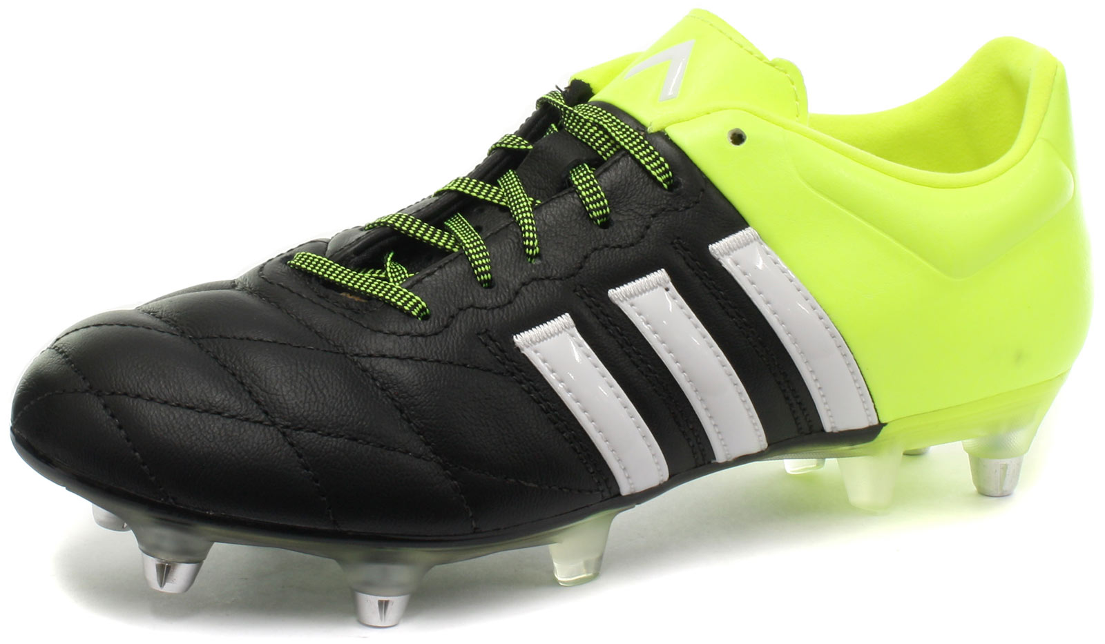 quality design 3d154 30a4e New adidas Ace 15.2 SG Leather Mens Football Boots  Soccer Cleats ALL  SIZES 1 of 6FREE Shipping ...