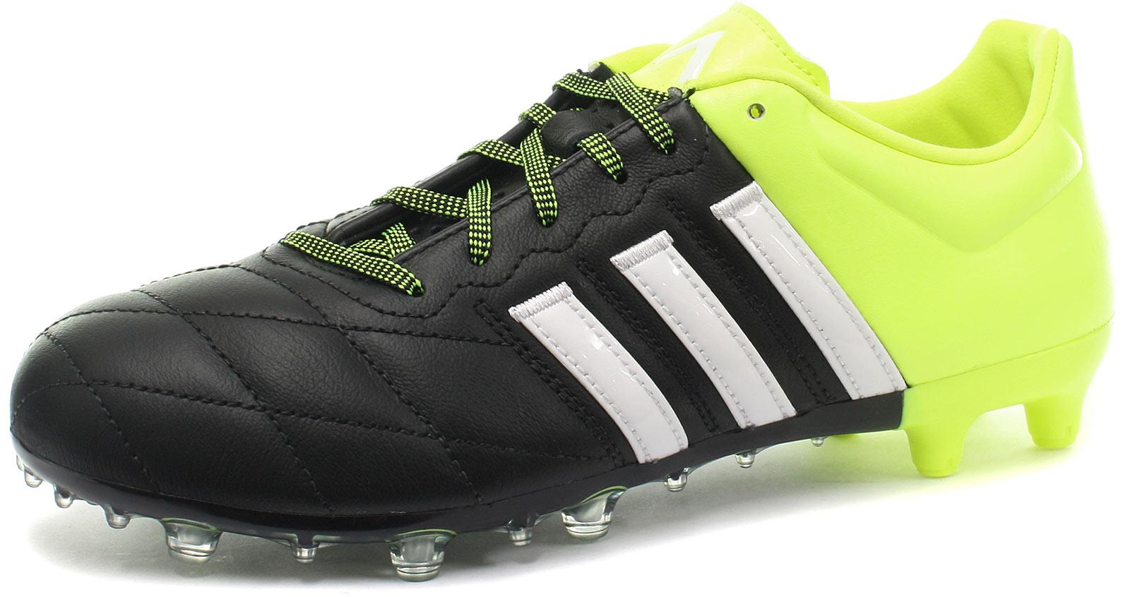 info for 8484a 39826 ... Football Boots Blue White Green La foto se está cargando Adidas-ACE-15-2-FG-Botas  adidas Ace 15.2 Black ...