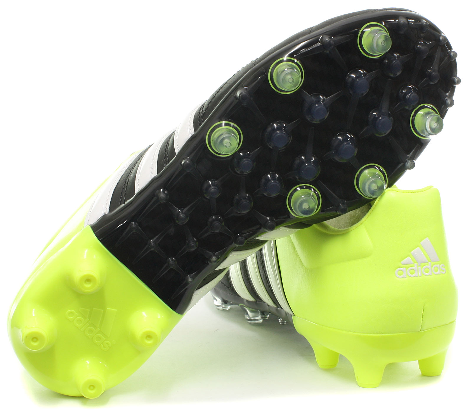 finest selection 22643 a32e7 ... reduced 2 di 6 adidas ace 15.2 fg ag leather mens football boots soccer  cleats all